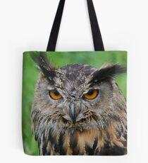 european eagle owl Tote Bag