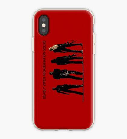 Deadly Viper Assassination escuadra - Kill Bill Vinilo o funda para iPhone