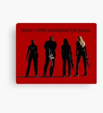 Deadly Viper Assassination Squad - Kill Bill Canvas Print