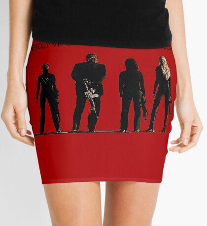 Deadly Viper Assassination escuadra - Kill Bill Minifalda