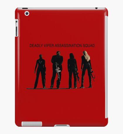 Deadly Viper Assassination escuadra - Kill Bill Vinilo o funda para iPad