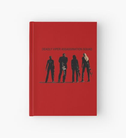 Deadly Viper Assassination escuadra - Kill Bill Cuaderno de tapa dura