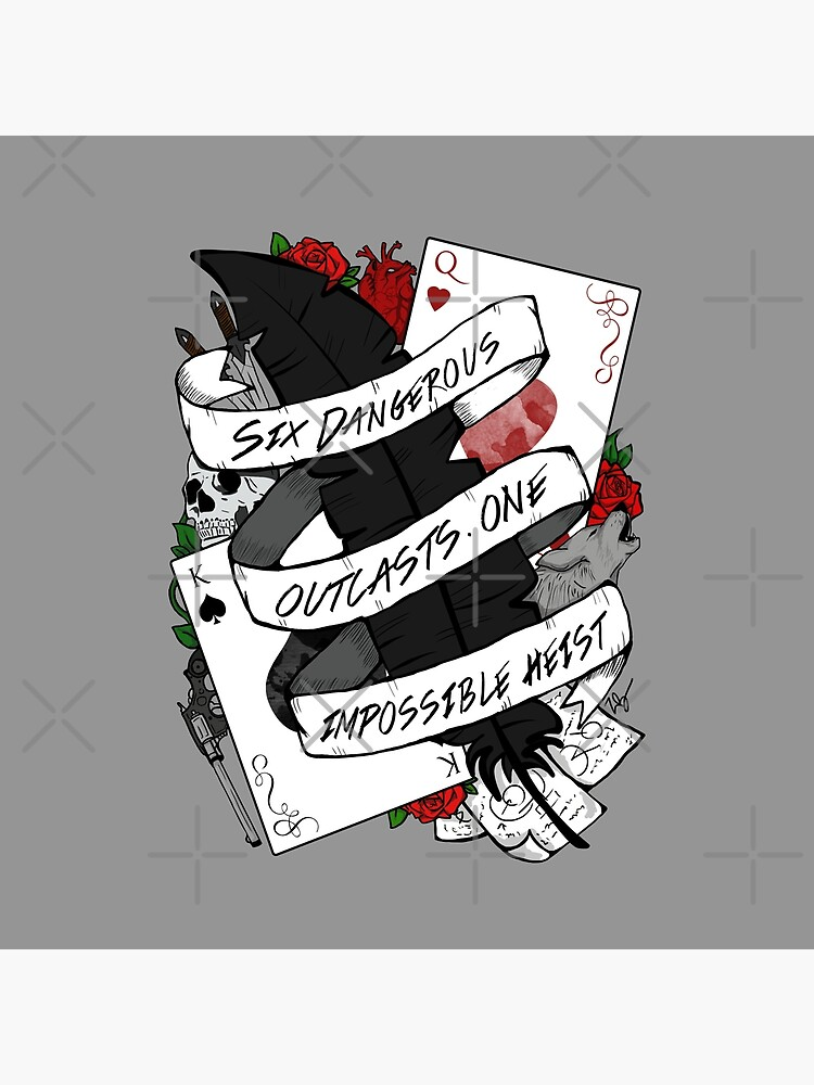 Six Dangerous Outcasts. One Impossible Heist | Six of Crows by CuteCrazies