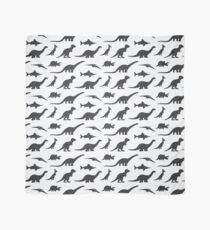 Dinosaurs silhouettes Scarf