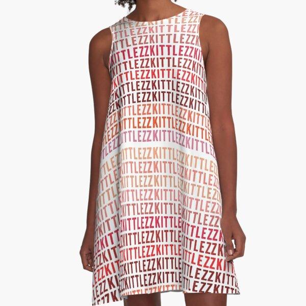 zkittlez A-Line Dress