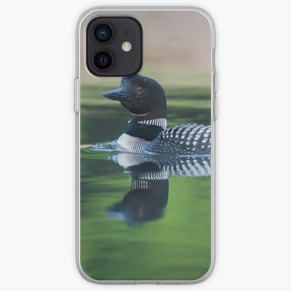 Common Loon iPhone Soft Case