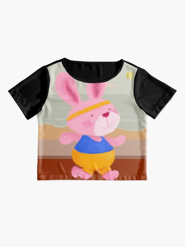 Alternate view of Bunny Runner Chiffon Top