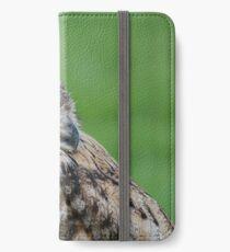 Turkmen (turkmenistan) Owl iPhone Wallet