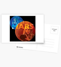 Earth to Mars Postcards