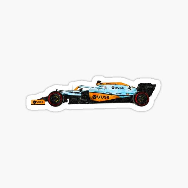 Lando F1 2021 Monaco Car Art Sticker