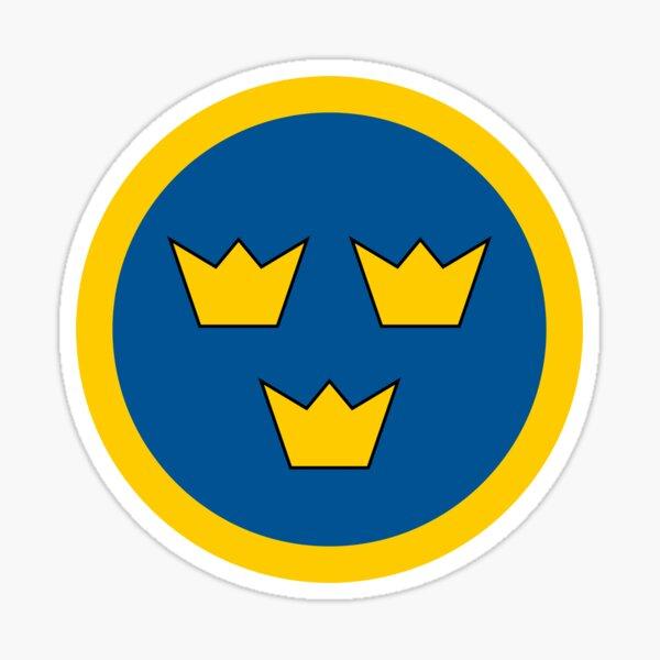 Swedish Air Force - Roundel Sticker