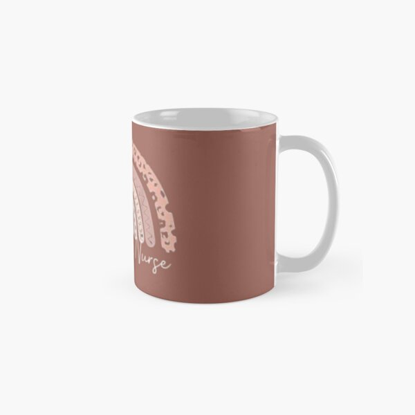 Oncology Nurse Rainbow t-shirt Classic Mug