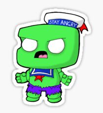 Stay Angry Sticker