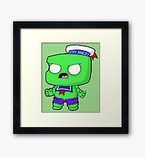 Stay Angry Framed Print