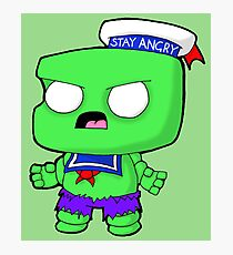 Stay Angry Photographic Print
