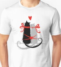 Couple of cats in love. T-Shirt