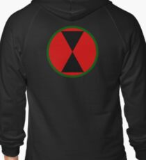 7th Infantry Division (United States) Zipped Hoodie
