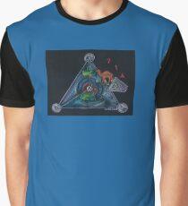 GIMEL - 3 - Divine Fullness Graphic T-Shirt