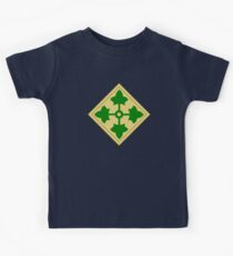 4th Infantry Division (United States) Kids Tee