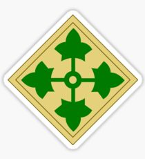 4th Infantry Division (United States) Sticker