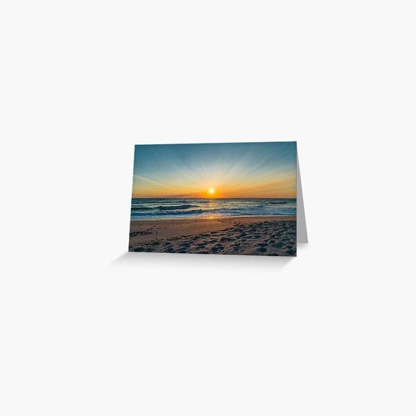 Cape Canaveral Florida Sunrise Greeting Card