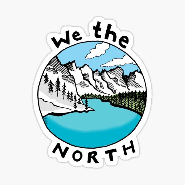 We The North 01 Sticker
