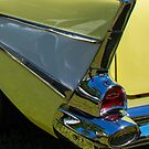 57 Chevy Tail Fin by Joe Saladino