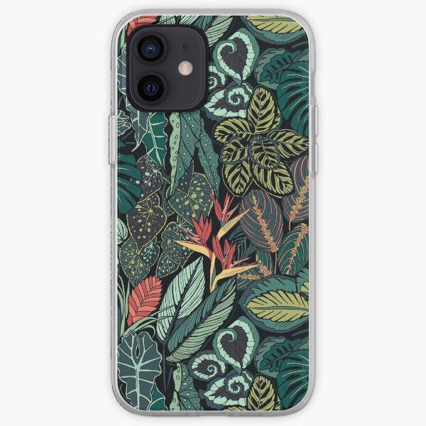 Rainforest Leaves iPhone Soft Case