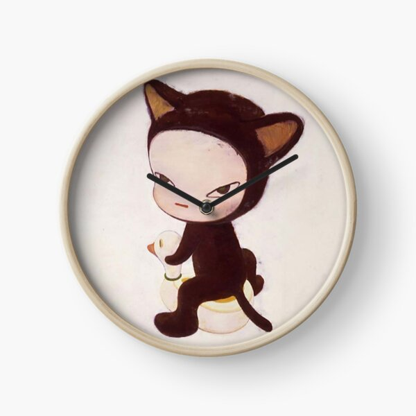 Yoshitomo Nara Kitty Clock