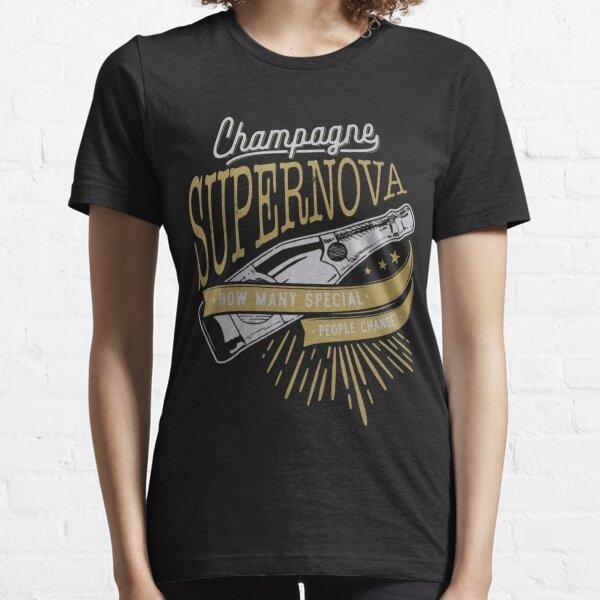 Oasis T-Shirt , Champagne Supernova T Shirt, Oasis T Shirt, Oasis T-shirt, Oasis tee, Champagne Supernova Shirt, Gift Music Lovers Essential T-Shirt