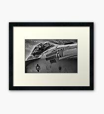 Jet Bomber Framed Print