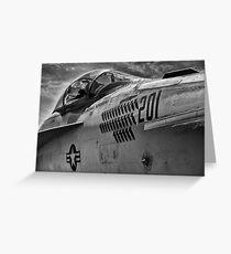 Jet Bomber Greeting Card