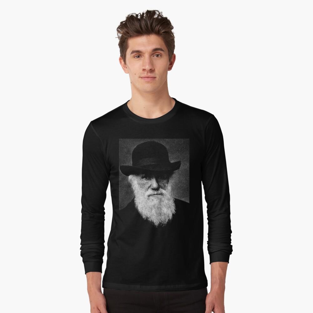 Charles Darwin Long Sleeve T-Shirt