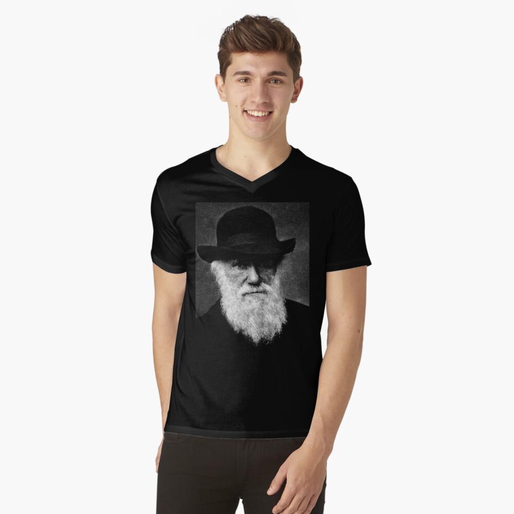 Charles Darwin V-Neck T-Shirt