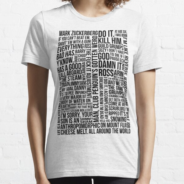 Game Grumps Quotes Essential T-Shirt