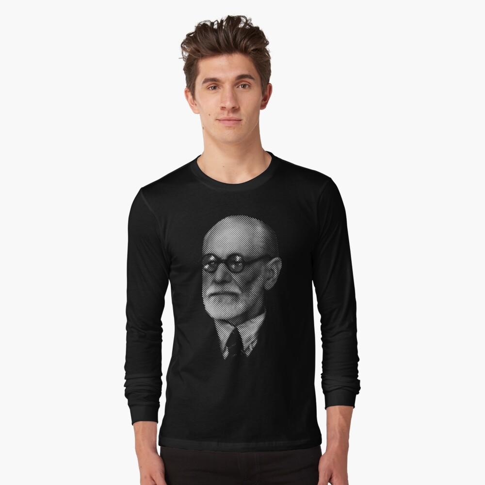 Sigmund  Freud Long Sleeve T-Shirt