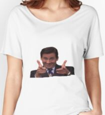 The Office: Michael Scott Pointing Women's Relaxed Fit T-Shirt