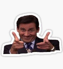The Office: Michael Scott Pointing Sticker