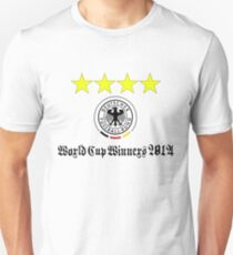Germany World Cup Winners 2014 T-Shirt
