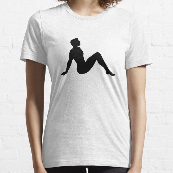 Hombre Mudflap Camiseta esencial