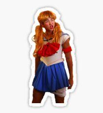 Sailor Moon Rap Monster Namjoon Aufkleber Sticker