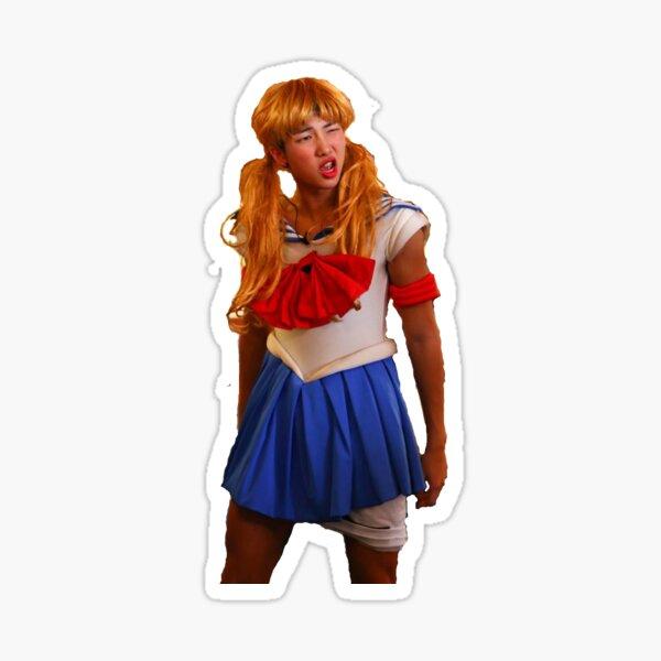 Sailor Moon Rap Monster Namjoon Sticker Sticker