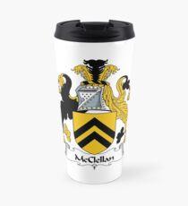 McClellan Coat of Arms / McClellan Family Crest Travel Mug