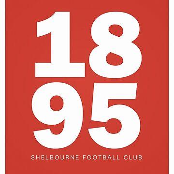 1895 - SHELBOURNE FOOTBALL CLUB - PRINT by 1895Trust