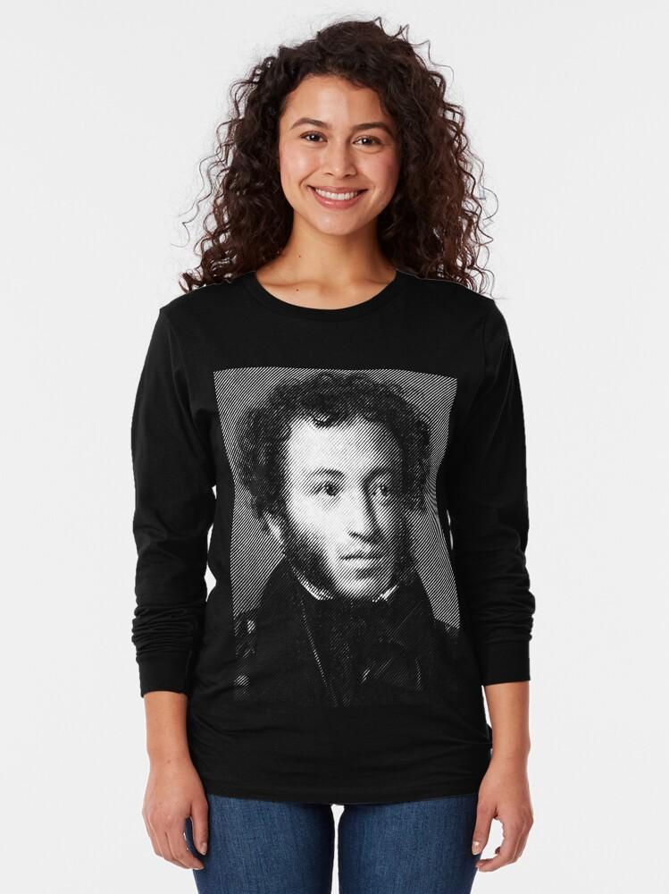 Alternate view of Alexander Pushkin, the greatest Russian poet Long Sleeve T-Shirt