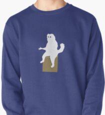 Cartoon persische Katze Zimmer Wächter Meme Sweatshirt