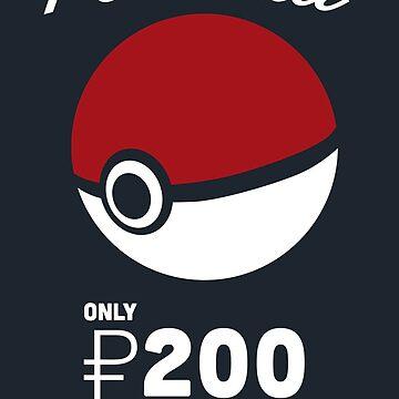 Pokemon Pokeball Pokemart Ad by KodiSershon