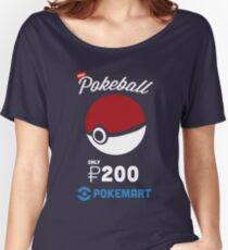 Pokemon Pokeball Pokemart Ad Women's Relaxed Fit T-Shirt