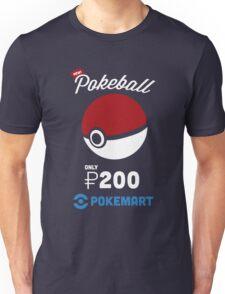 Pokemon Pokeball Pokemart Ad Unisex T-Shirt