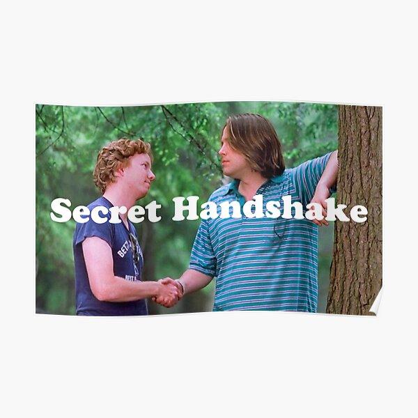 Wet Hot Secret Handshake Poster